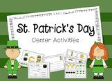 St. Patrick's Day Center Activities