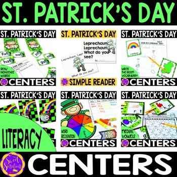 St. Patrick's Day Literacy Activities Bundle