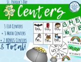 St. Patrick's Day Centers! Kindergarten Centers!