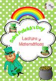 St Patrick's Day Centers Spanish / San Patricio Centros de Lectura y Matemáticas