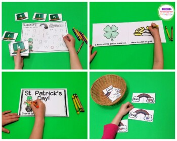 St. Patrick's Day Centers and Activities for Pre-K/Kindergarten