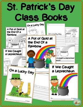St. Patrick's Day Class Books