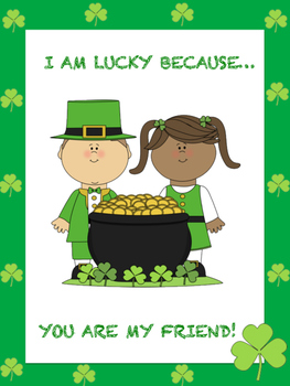 FREE St. Patrick's Day Classroom Posters and Poems + Student Poster Templates!