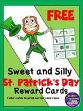 St. Patrick's Day Classroom Reward Cards Freebie