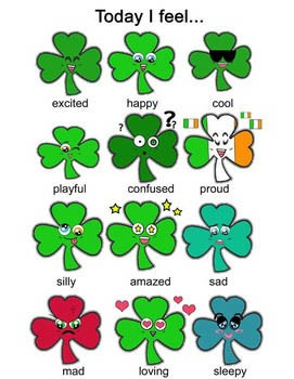 St. Patrick's Day Clip-Art -24 Pieces BW/Color