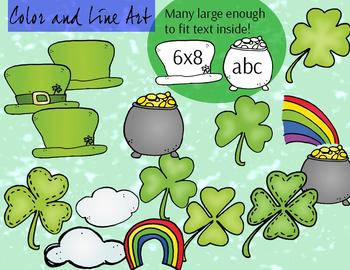 St. Patrick's Day Clipart - 28 piece set