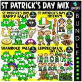 St Patrick's Day Clip Art Big Bundle {Educlips Clipart}