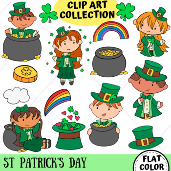 St Patrick's Day Clip Art Collection