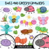 Bugs and Creepy Crawlers Clip Art Collection