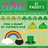 St. Patrick's Day Clip Art (Digital Use Ok!)