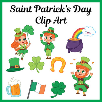 St Patrick's Day Clip Art