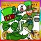 St. Patrick's Day Clip Art SET 2 clip art- color and B&W-