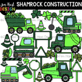 St. Patrick's Day Clip Art - Shamrock Construction {jen ha