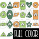 St. Patrick's Day Clip Art- St. Patrick's Day 2D & 3D Shapes {jen hart Clip Art}
