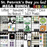 St. Patrick's Day Clip Art -Mega BUNDLE {jen hart Clip Art}