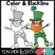 St. Patrick's Day Clipart BUNDLE &  Seller's Kit