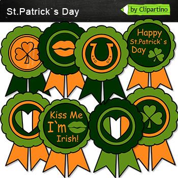 St.Patrick's Day Clipart Emblem