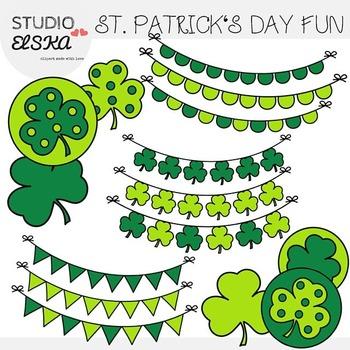 St. Patrick's Day Clipart Fun