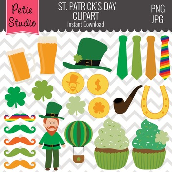St Patricks Day Clipart Gold Coins Luck Of The Irish