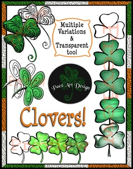 St. Patrick's Day Clipart- SUPER DEAL! {80 Images Total}