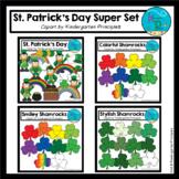 St. Patrick's Day Clipart SUPER SET