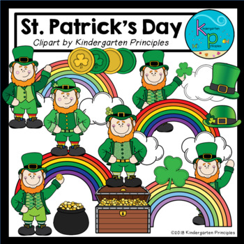 St. Patrick's Day Clipart Set