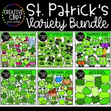 St. Patrick's Day Clipart Variety Bundle: $28.50 Value {Cr