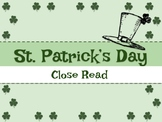 St. Patrick's Day Close Read