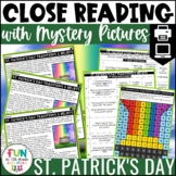 St. Patrick's Day Close Reading Comprehension w/ Mystery P