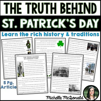 St. Patrick's Day Close Reading: History, Myths & Traditions