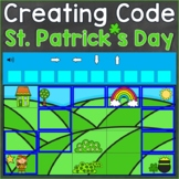 St. Patrick's Day Coding Activities Creating Code Digital
