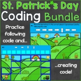 St. Patrick's Day Coding Creating & Following Code Digital