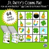 St. Patrick's Day Coding Mat for Bee-Bot or Code & Go Robot Mouse