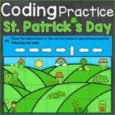 St. Patrick's Day Coding Practice Following Code Digital B