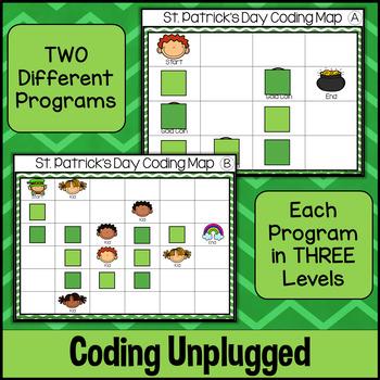 St. Patrick's Day Coding Unplugged