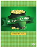 St. Patrick's Day Coin Hunt:  Subtraction Facts