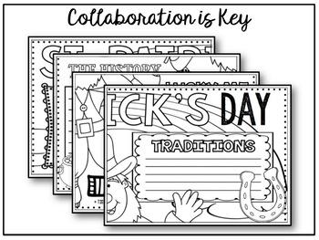 St. Patricks Day Collaborative Poster Activity