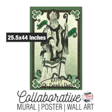 St. Patrick's Day Collaborative Mural | Poster | Huge Wall Art