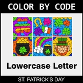 St. Patrick's Day: Color By Letter (Lowercase)