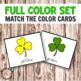 St Patrick's Day Color Cards