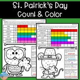St. Patrick's Day Color & Count for Articulation & Language