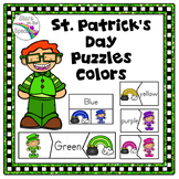 St. Patrick's Day Color Puzzles