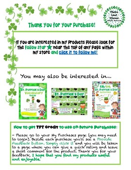 St. Patrick's Day Color and Draw Pages -  Coloring and Drawing Activity