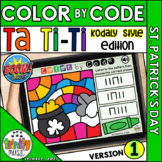 St. Patrick's Day Color by Code Boom Cards (Ta Ti-Ti - KOD