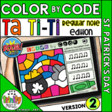 St. Patrick's Day Color by Code Boom Cards (Ta Ti-Ti - REG