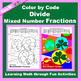 St. Patrick's Day Color by Code: Multiply & Divide Fractions 5 in 1