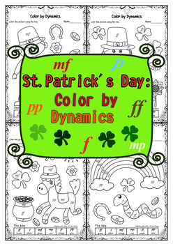 St. Patrick`s Day: Color by Dynamics.