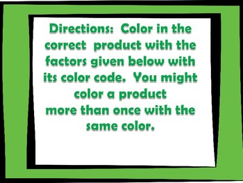 "St. Patrick's Day ""Color by Number"" 4.NBT.5"