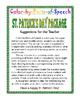 St. Patrick's Day Color by Parts of Speech Activity