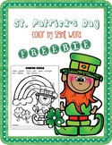 FREEBIE St. Patrick's Day Color by Sight Word